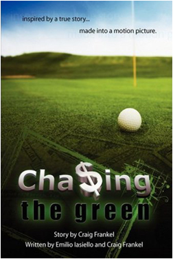 Chasing the Green Official Hardcover Book Cover