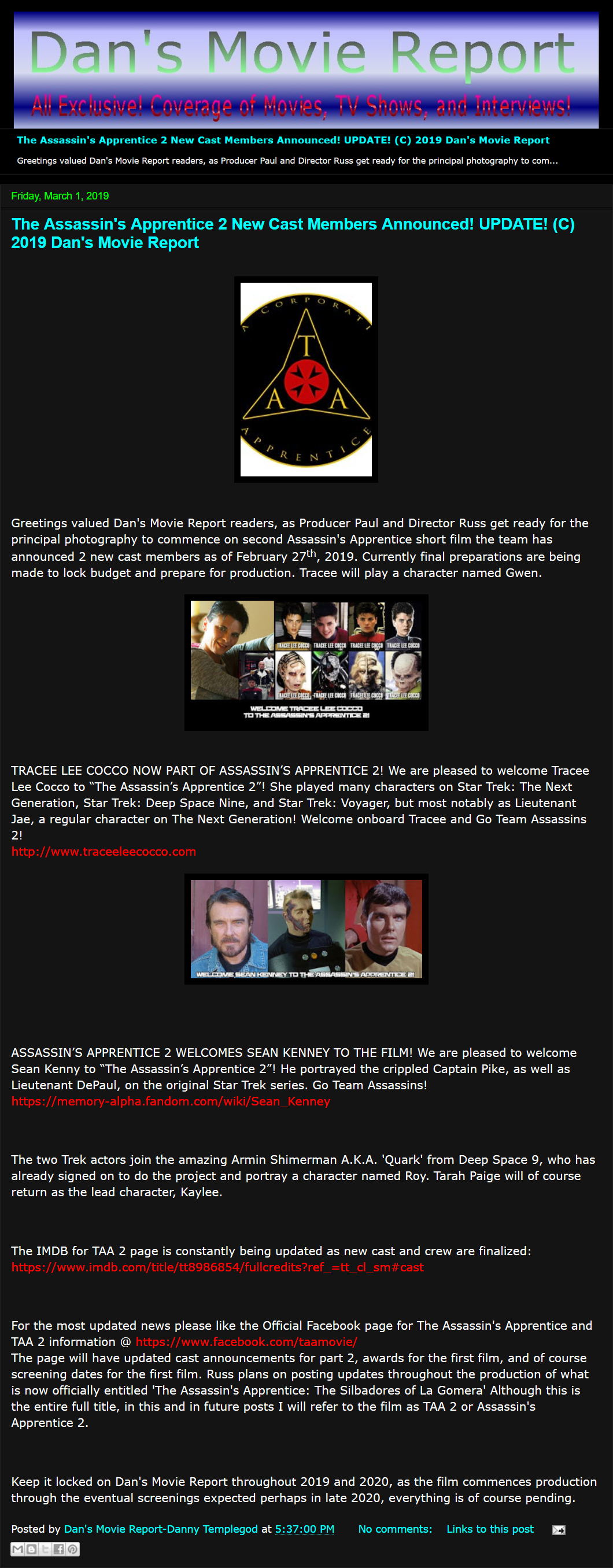 R U S S E M Productions | News